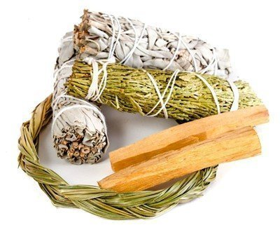 Sweetgrass Smudge Kit