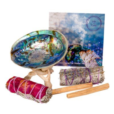 Abalone Shell Smudge Kit