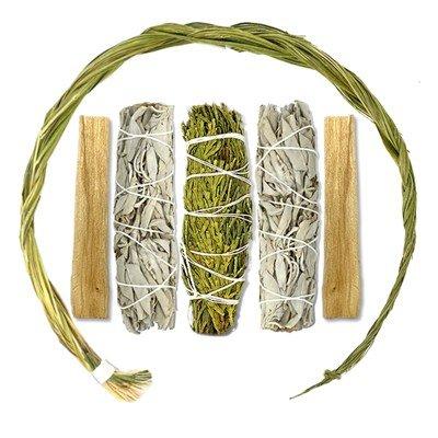 Sweetgrass Braid Smudge Kit